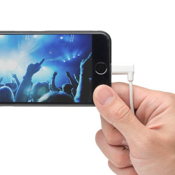 iPhone 充電 ケーブル ライトニング ケーブル 認証 充電 L字型コネクタ 1m(即納) sanwadirect 12