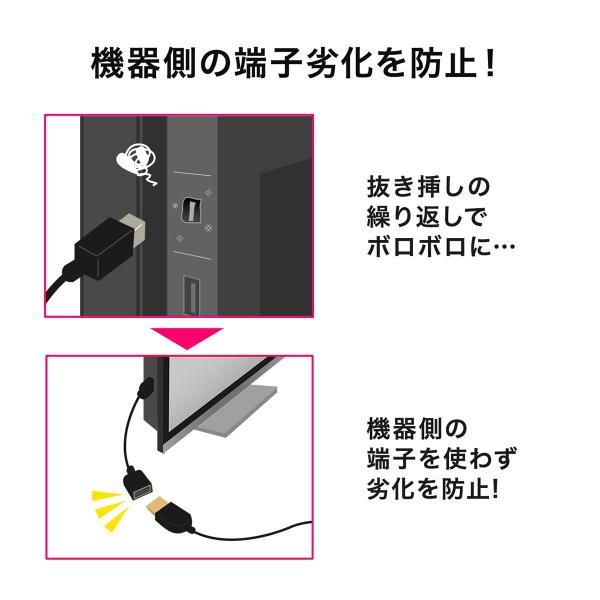 Mini DisplayPort 変換ケーブル アダプタ ケーブル Thunderbolt Display Port 画面 複製 拡張 15cm(即納)|sanwadirect|05