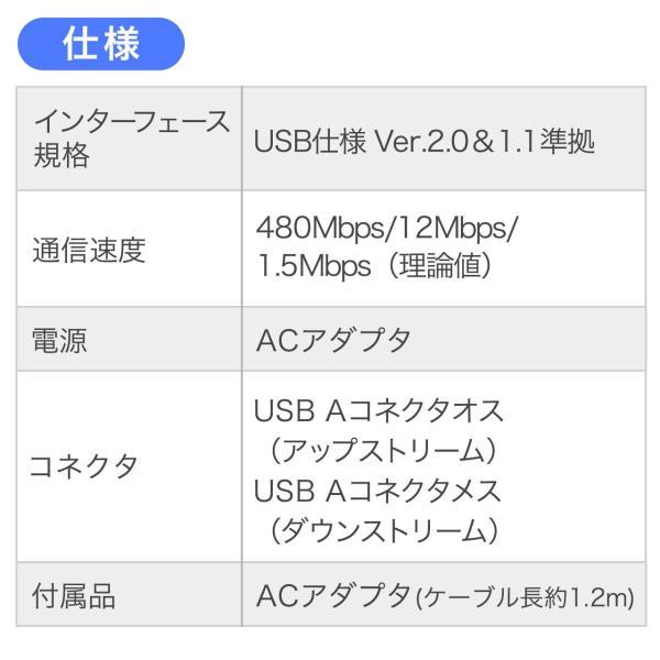 USB延長ケーブル 60m USB2.0 ブラック sanwadirect 05