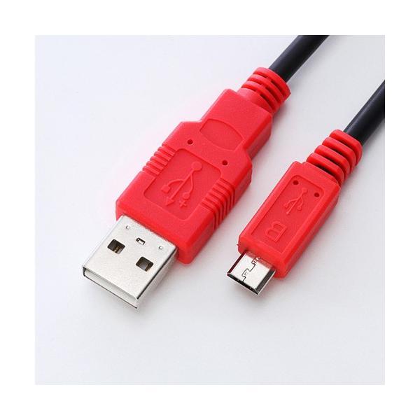 スマホ 充電 ケーブル 急速 マイクロUSBケーブル 1m スマホ充電ケーブル 携帯 充電 ケーブル|sanwadirect|02