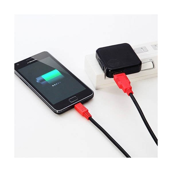 スマホ 充電 ケーブル 急速 マイクロUSBケーブル 1m スマホ充電ケーブル 携帯 充電 ケーブル|sanwadirect|04