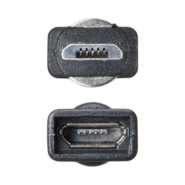micro USB 充電 アダプター マグネット 着脱 式 スマートフォン マグネット 変換 アダプタ 2A 充電(即納) sanwadirect 14