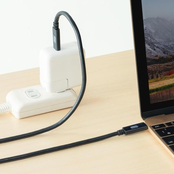 Type-C USB ケーブル USB TypeC ケーブル タイプc 充電ケーブル 1m Gen2(即納)|sanwadirect|10