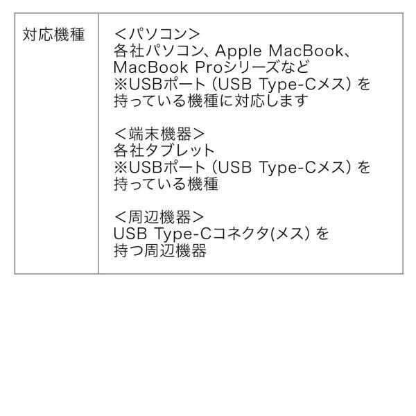 Type-C USB ケーブル USB TypeC ケーブル タイプc 充電ケーブル 2m USB2.0(即納)|sanwadirect|11