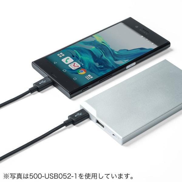 Type-C USB ケーブル USB TypeC ケーブル タイプc 充電ケーブル 2m USB2.0(即納)|sanwadirect|12