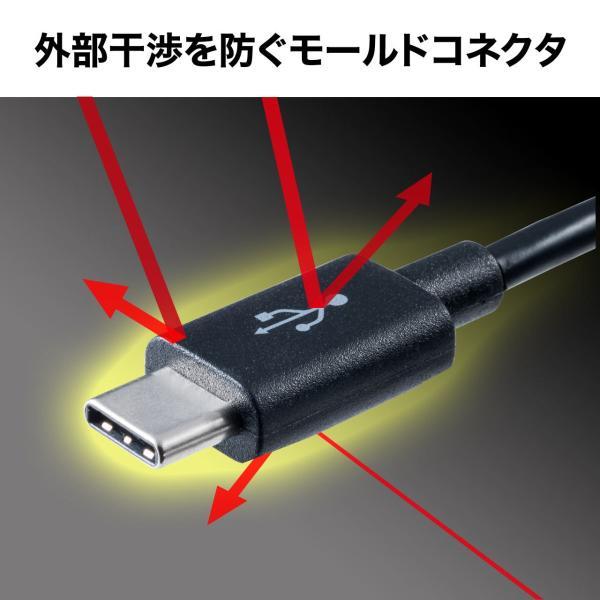 Type-C USB ケーブル USB TypeC ケーブル タイプc 充電ケーブル 2m USB2.0(即納)|sanwadirect|05