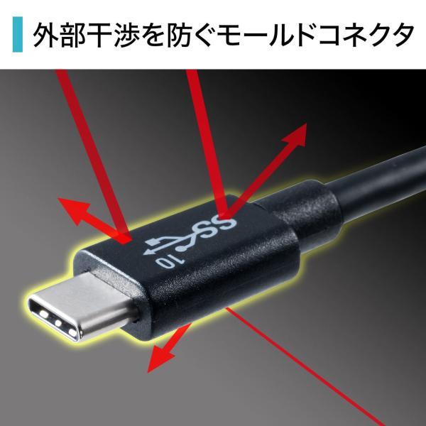 Type-C USB ケーブル USB TypeC ケーブル タイプc 充電ケーブル 1m Gen2(即納) sanwadirect 05