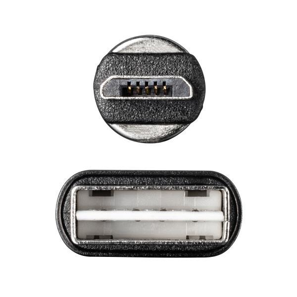 【2本セット】充電ケーブル マグネット式 アンドロイド Android スマホ 充電器 マイクロUSB micro USBケーブル 急速充電 通信 1m(即納) sanwadirect 18