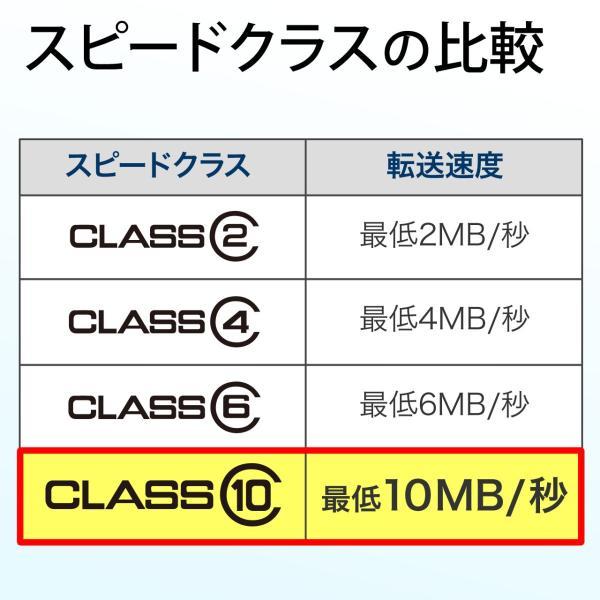 SDカード 8GB SDHCカード Class10(即納)|sanwadirect|03