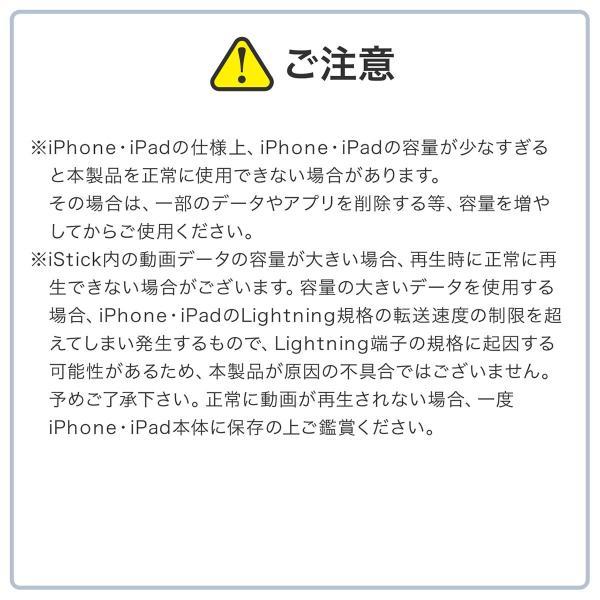 iPhone USBメモリ iPad 128GB Lightning MFi認証 バックアップ データ転送 iStickPro|sanwadirect|07