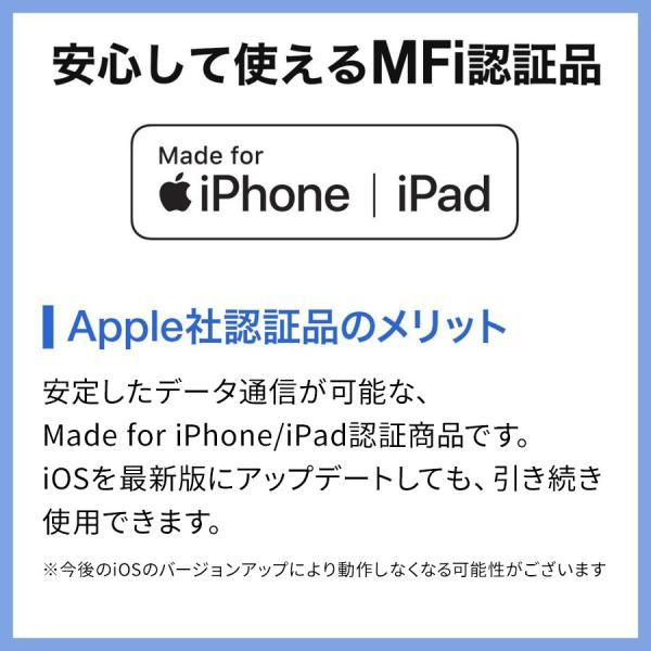 iPhone USBメモリ iPad 128GB Lightning MFi認証 バックアップ データ転送 iStickPro|sanwadirect|10