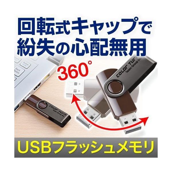 USBフラッシュ メモリ スイングタイプ 32GB(即納) sanwadirect