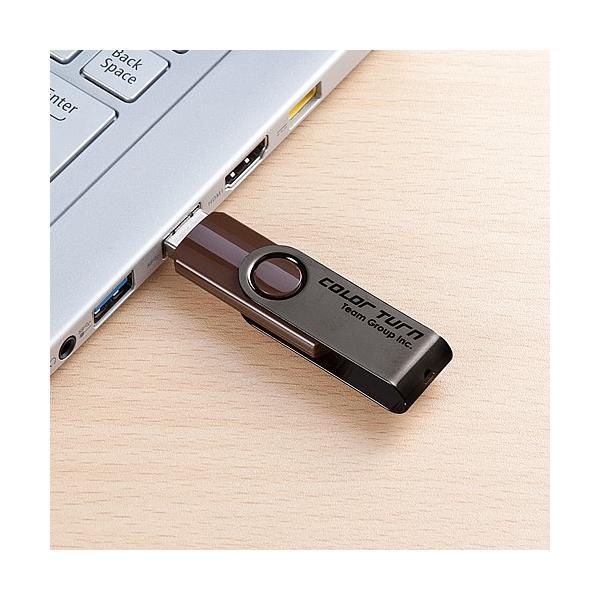 USBフラッシュ メモリ スイングタイプ 32GB(即納) sanwadirect 05