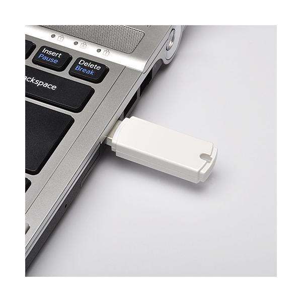 USBメモリ 2GB シンプルタイプ(即納)|sanwadirect|05