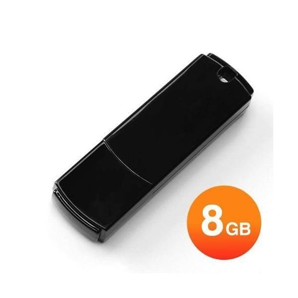 USBメモリ 8GB シンプルタイプ(即納)|sanwadirect