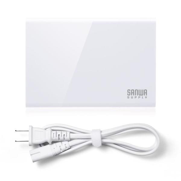 USB充電器 6ポート スマホ 充電器 ACアダプター Type-Cポート 急速充電 iPhone iPad コンセント(即納)|sanwadirect|13