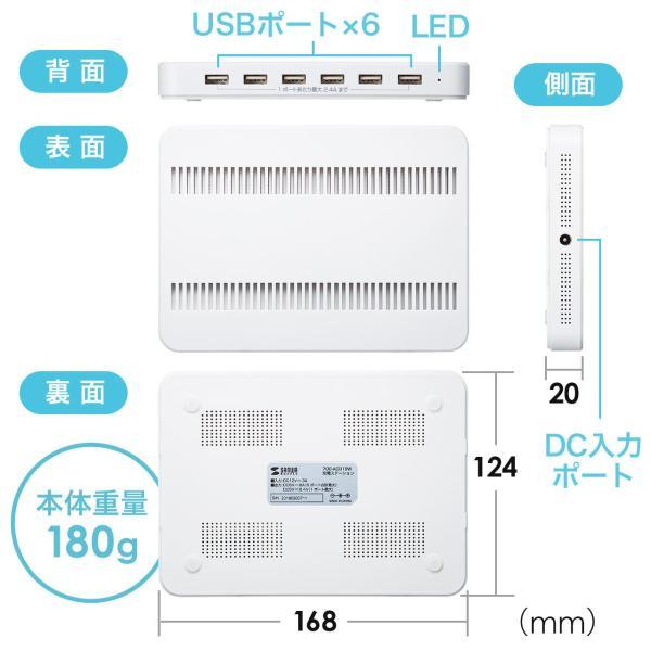 iPhone 充電スタンド スマホ 充電器 タブレット 6A 36W(即納) sanwadirect 12