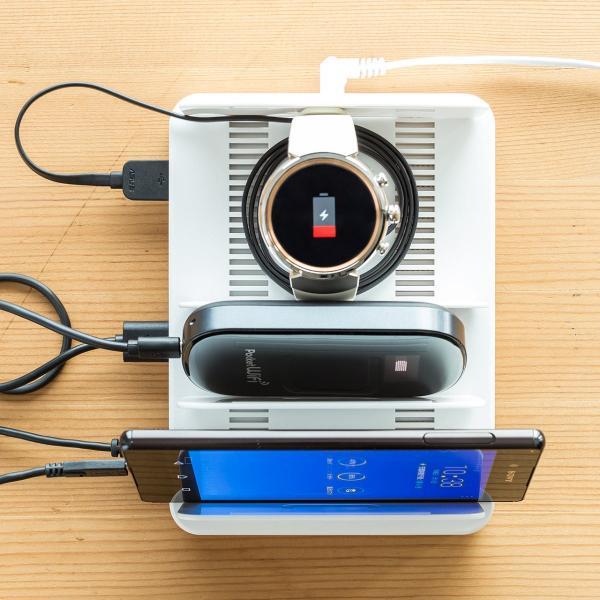 iPhone 充電スタンド スマホ 充電器 タブレット 6A 36W(即納) sanwadirect 14