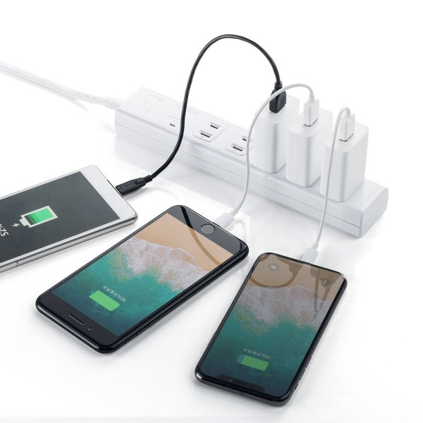 USB充電器 1ポート 2A コンパクト PSE取得 iPhone/Xperia充電対応(即納)|sanwadirect|13