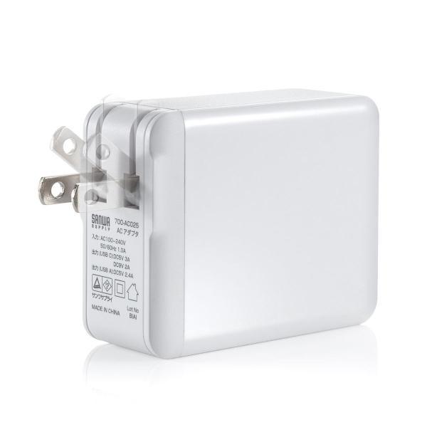 USB 急速 充電 PD充電器 iPad Pro 充電器 18W Type Cポート 小型 タイプC|sanwadirect|17