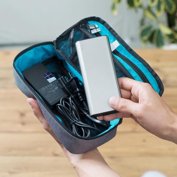 モバイルバッテリー 大容量 10000mAh 急速充電 PSE 2台同時充電 携帯 iPhone スマホ Android(即納)|sanwadirect|16