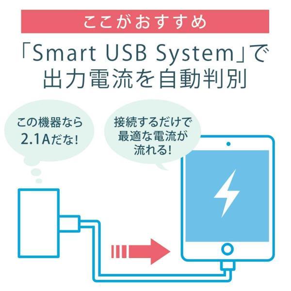電源タップ 延長コード テーブルタップ コンセント AC6個口 USB充電付き 回転式(即納)|sanwadirect|05