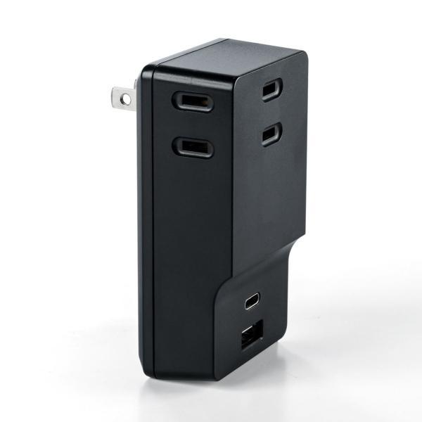 USB 充電器 コンセント スマホ iPhone 急速充電 Type-C ケーブル付き セット(即納) sanwadirect 20
