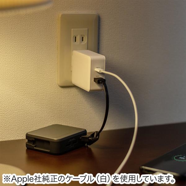 iPhone 高速充電 ケーブル 充電器セット PD充電器  PD最大18W Type C ポート タイプC USB充電器 コンパクト USB-C - Lightningケーブルセット(即納) sanwadirect 16