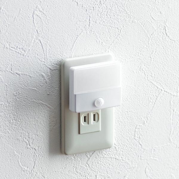 人感センサーライト 屋内 コンセント式 LED 足元灯 ナイトライト 自動点灯(即納) sanwadirect 13