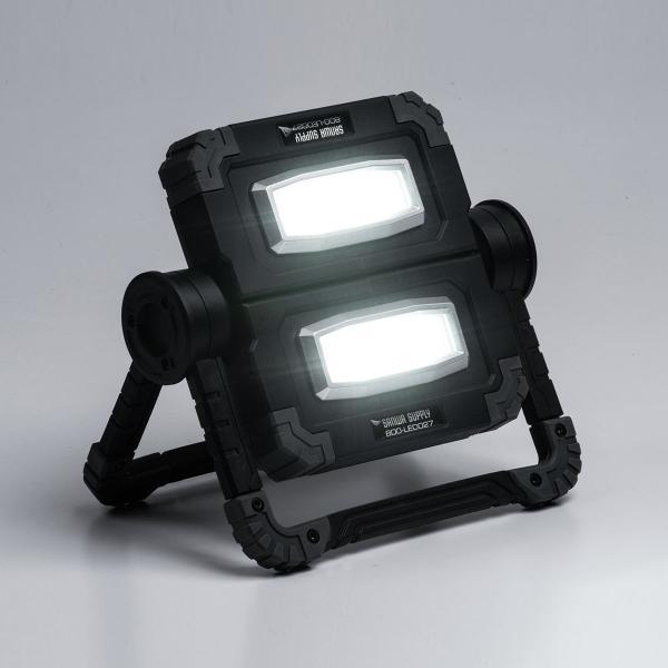 LED投光器 作業灯 充電式 ワークライト 屋外 アウトドア 20W 850ルーメン(即納)|sanwadirect|19
