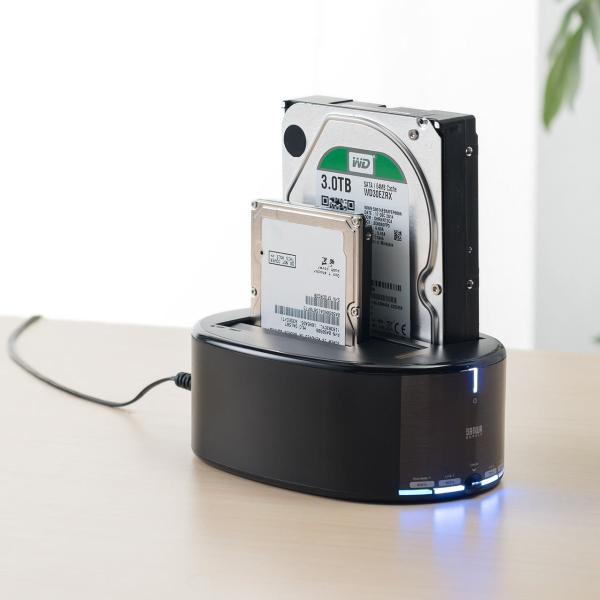 HDD コピー クローンスタンド SSD デュプリケーター|sanwadirect|15