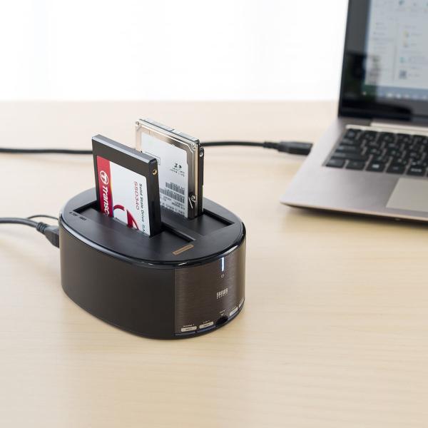 HDD コピー クローンスタンド SSD デュプリケーター|sanwadirect|08