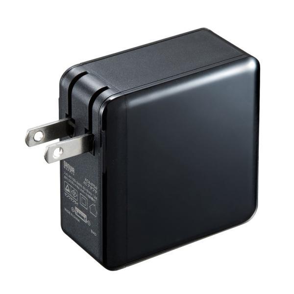USB充電器 合計6A 4ポート ブラック(ACA-IP54BK)(即納)|sanwadirect|04