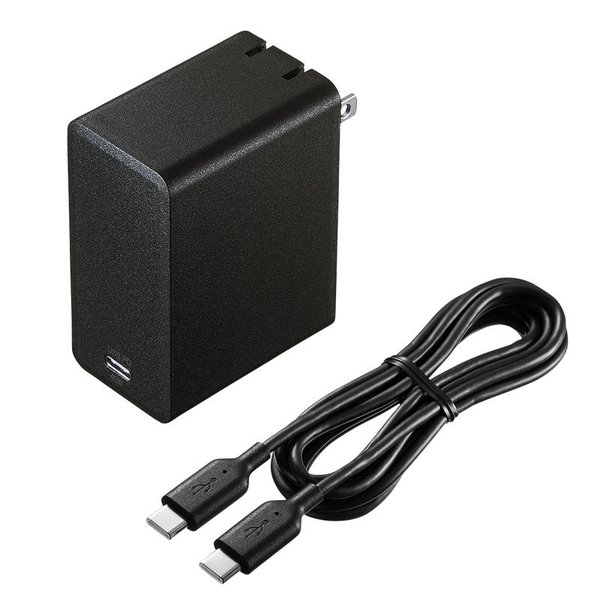 USB Power Delivery対応AC充電器 45W(即納)|sanwadirect