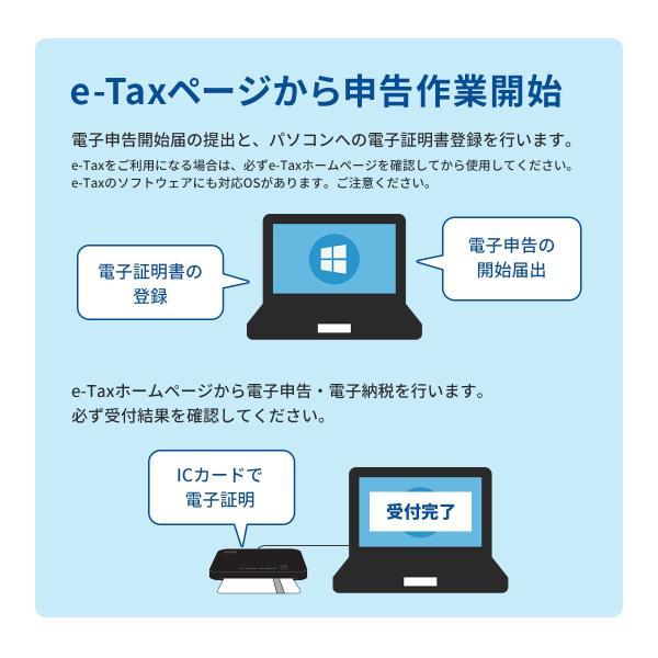 ICカードリーダー 確定申告 マイナンバー 対応 接触型 サンワサプライ ADR-MNICUBK(即納)|sanwadirect|05