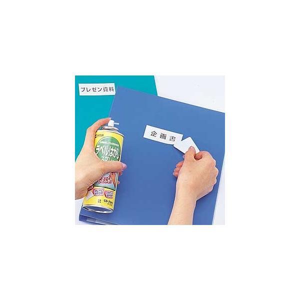 ラベルはがし シールなどをはがすときに使用(CD-76N)