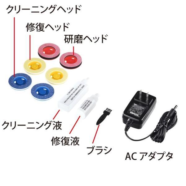 DVDクリーナー ディスク自動修復機 CD DVD用 研磨タイプ(即納)|sanwadirect|05