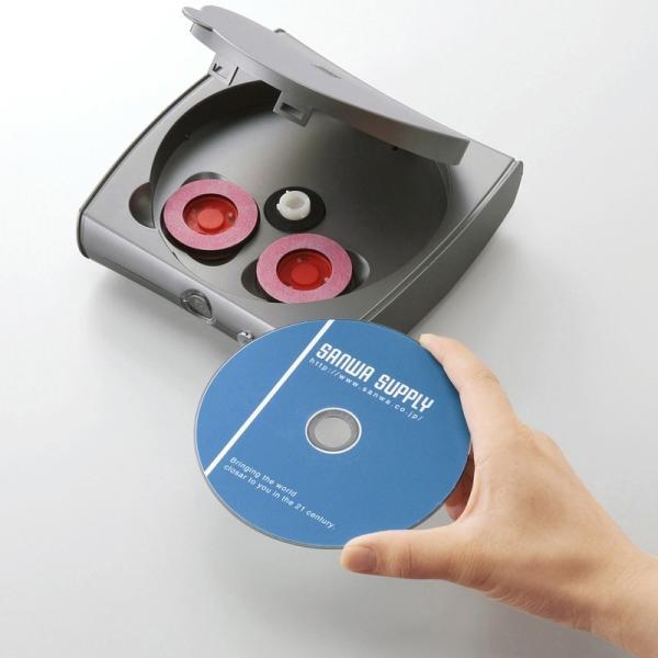 DVDクリーナー ディスク自動修復機 CD DVD用 研磨タイプ(即納)|sanwadirect|09