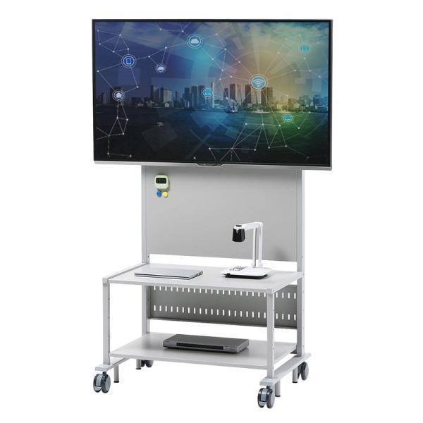 液晶ディスプレイスタンド 55から84型対応 棚付き(即納)|sanwadirect|02
