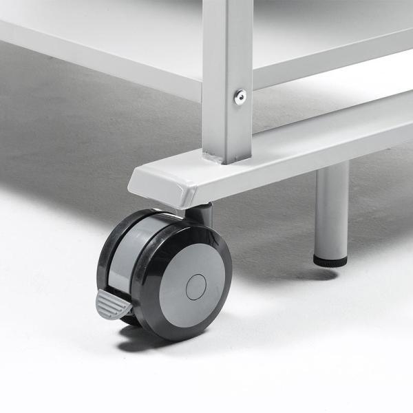 液晶ディスプレイスタンド 55から84型対応 棚付き(即納)|sanwadirect|06