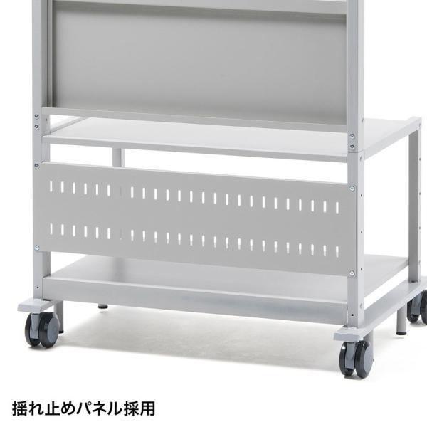 液晶ディスプレイスタンド 55から84型対応 棚付き(即納)|sanwadirect|07