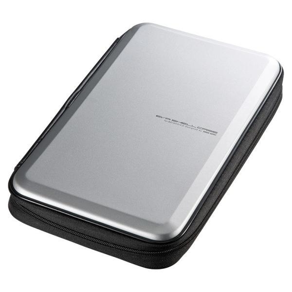 ブルーレイディスク対応セミハードケース 56枚収納 シルバー(FCD-WLBD56S)