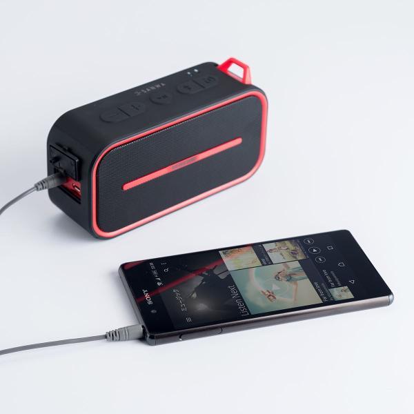 Bluetoothスピーカー 防水 ワイヤレススピーカー ブルートゥース iPhone スマホ 高音質 大音量 重低音 ポータブル 連続8時間再生|sanwadirect|11