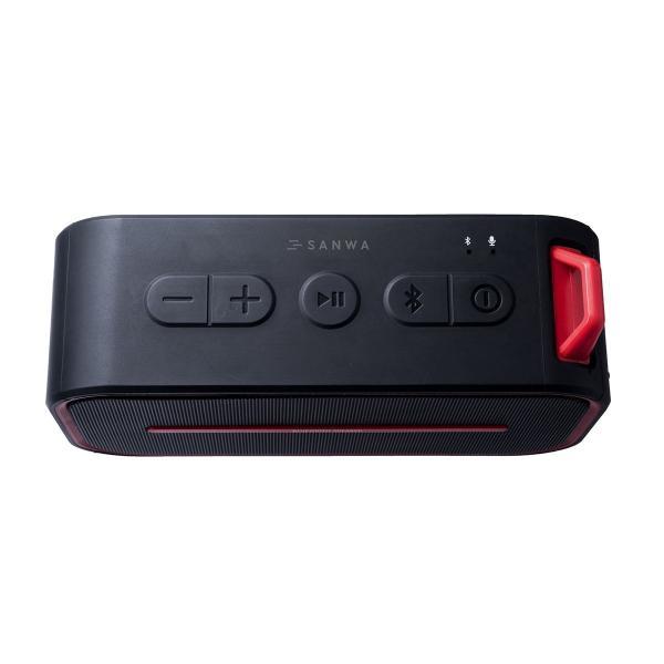 Bluetoothスピーカー 防水 ワイヤレススピーカー ブルートゥース iPhone スマホ 高音質 大音量 重低音 ポータブル 連続8時間再生|sanwadirect|14