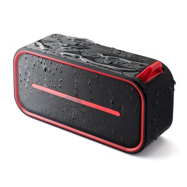 Bluetoothスピーカー 防水 ワイヤレススピーカー ブルートゥース iPhone スマホ 高音質 大音量 重低音 ポータブル 連続8時間再生|sanwadirect|18