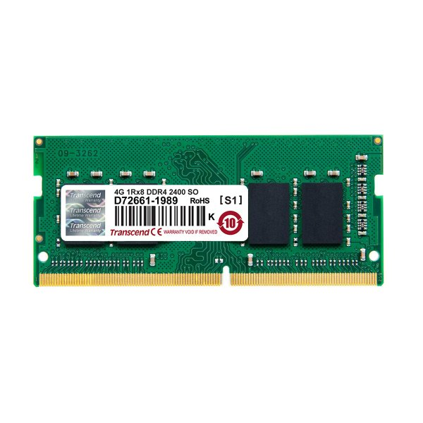 増設メモリ ノートPC用 4GB DDR4-2400 PC4-19200 SO-DIMM JM2400HSH-4G Transcend|sanwadirect