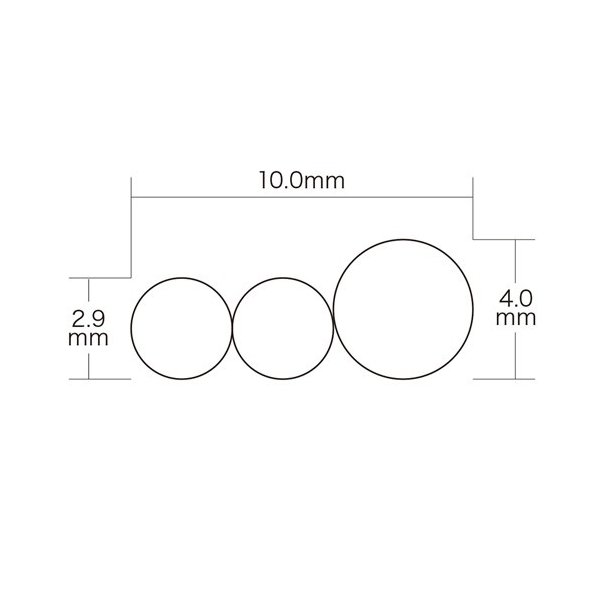 AVケーブル RCAプラグ×3-RCAプラグ×3 1.8m(KM-V9-18K2)(即納)