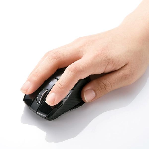 Bluetooth3.0マウス マルチペアリング対応 3台切替(MA-BTBL121BK)(即納)|sanwadirect|02