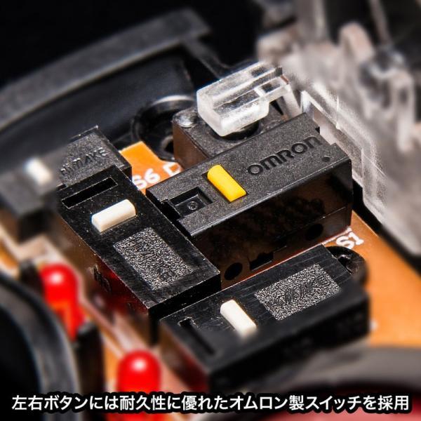 ワイヤレスレーザートラックボール 左右スクロール レッド(MA-WTB43RN)(即納)|sanwadirect|05