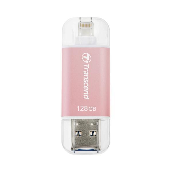 Transcend Lightning USBメモリ 128GB JetDrive Go 300 USB3.1対応 TS128GJDG300R(即納)|sanwadirect